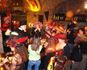 Photo A highlight - the guided tour of the wine cellar